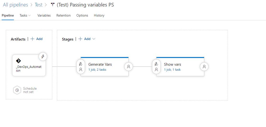 Использование переменных в пайплайнах Azure DevOps - 6