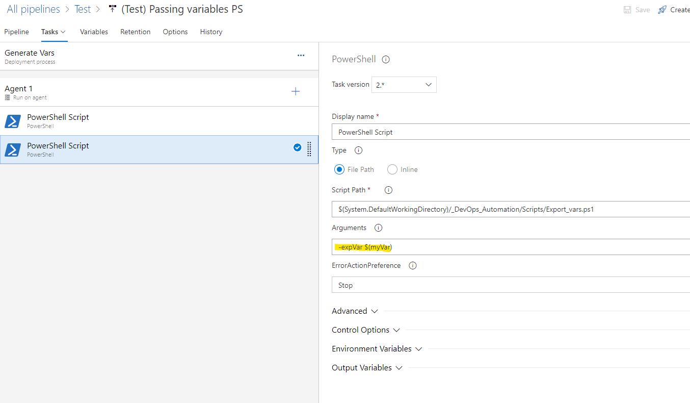 Использование переменных в пайплайнах Azure DevOps - 9