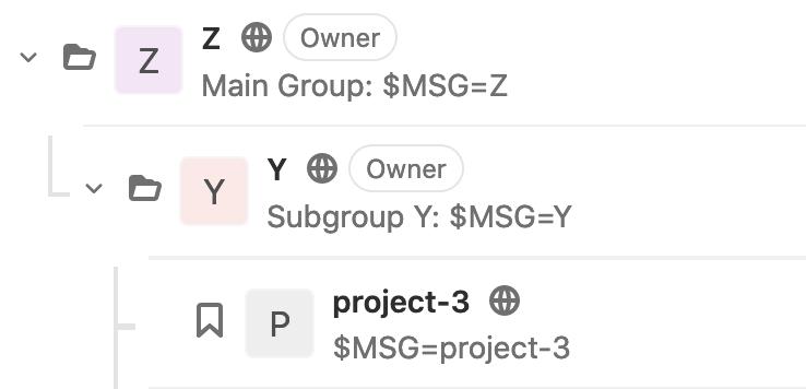 Как Gitlab-CI наследует переменные окружения? - 5