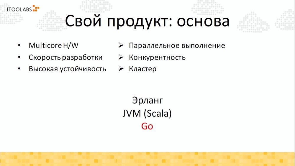 Алексей Найдёнов. ITooLabs. Кейс разработки на Go (Golang) телефонной платформы. Часть 1 - 7