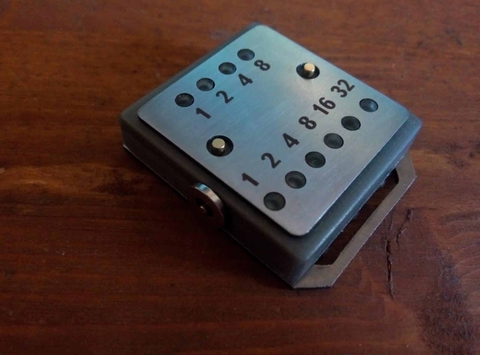 Бинарные часы «Cyber Watch» - 12