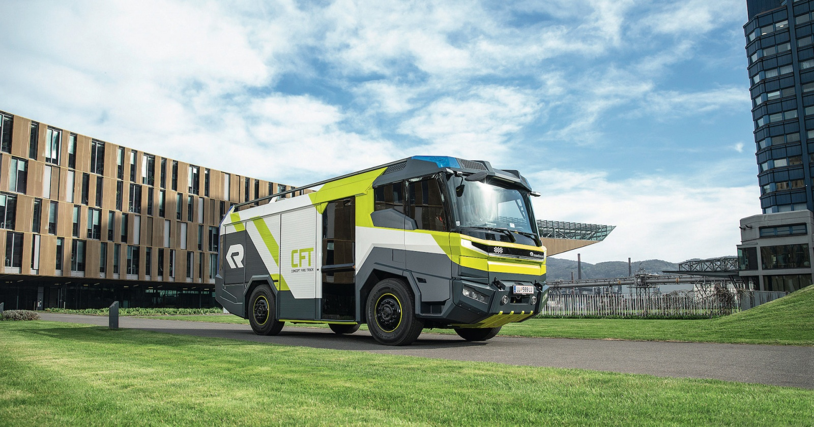 Ни дыма, ни огня: экологичный пожарный автобус