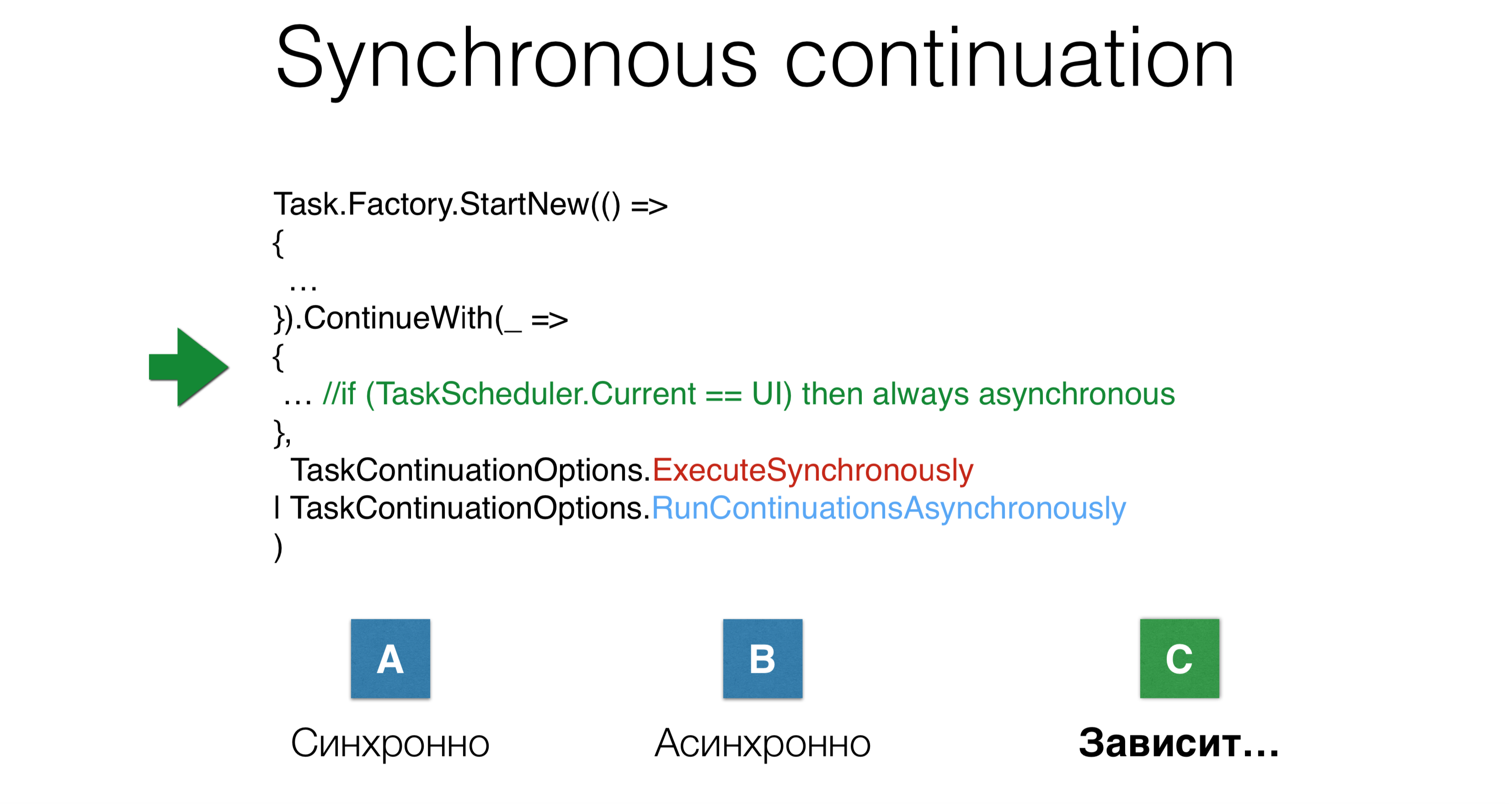 Async programming in .NET: Best practices - 11