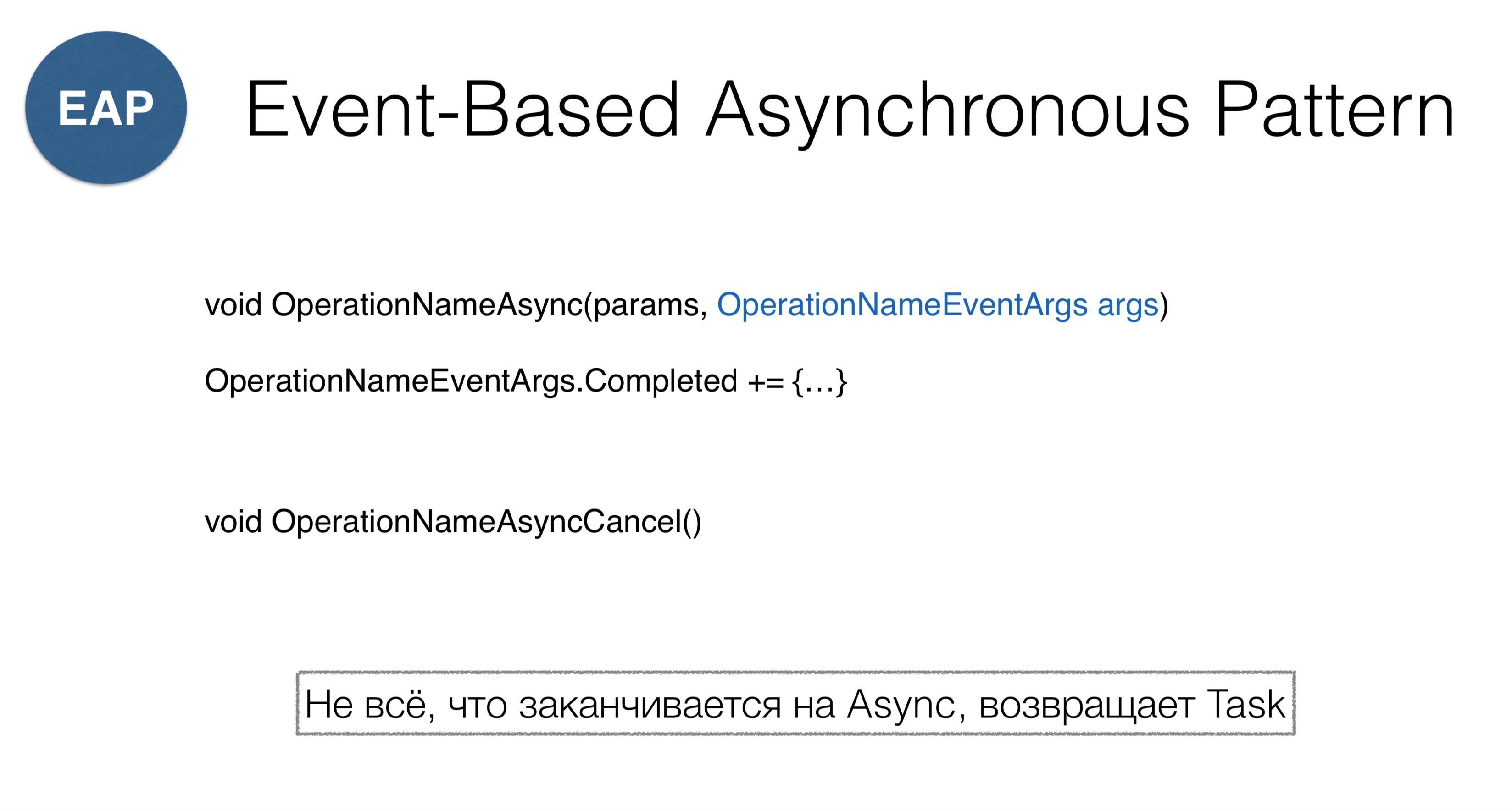 Async programming in .NET: Best practices - 5