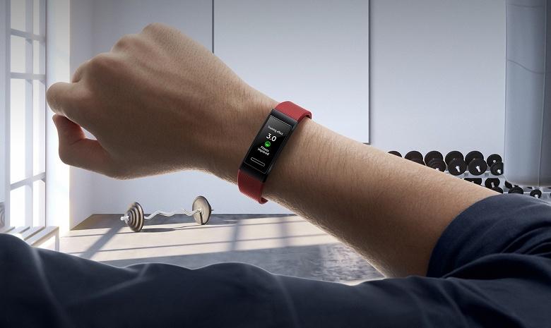 Huawei привезла в Россию ухудшенный умный браслет Band 4 Pro