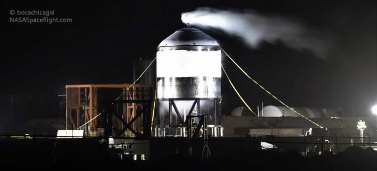 Видео: новый прототип SpaceX Starship успешно справился с тестом под давлением