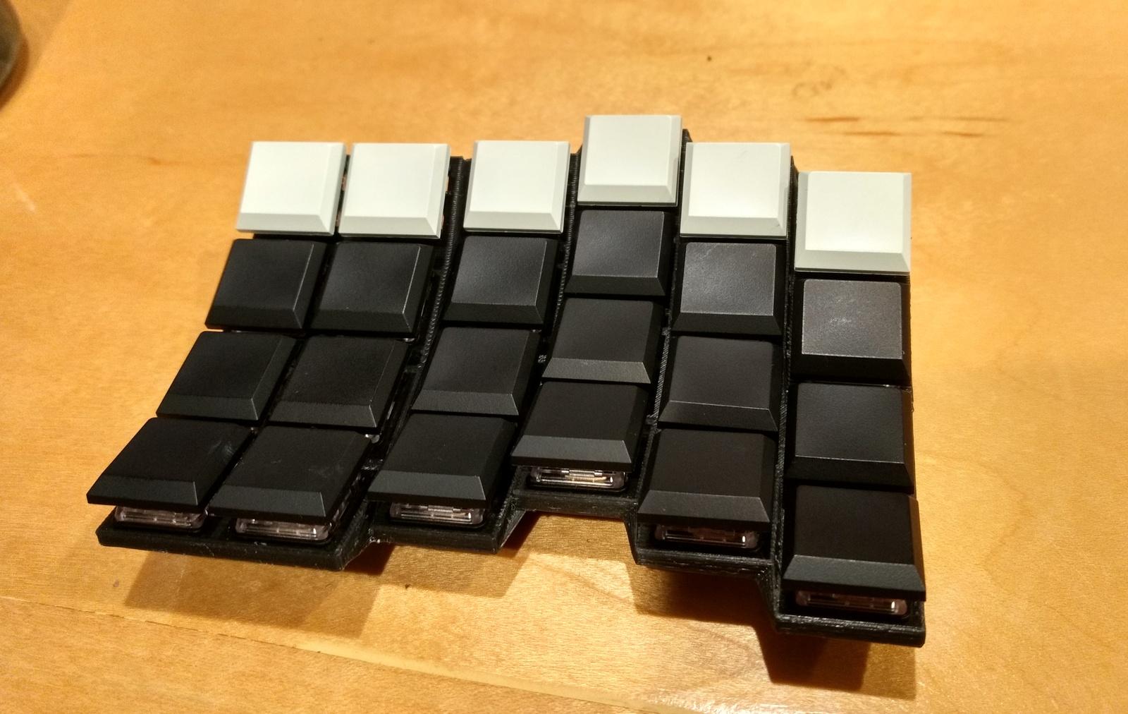 Sherbet: эргономичная игровая клавиатура - 10