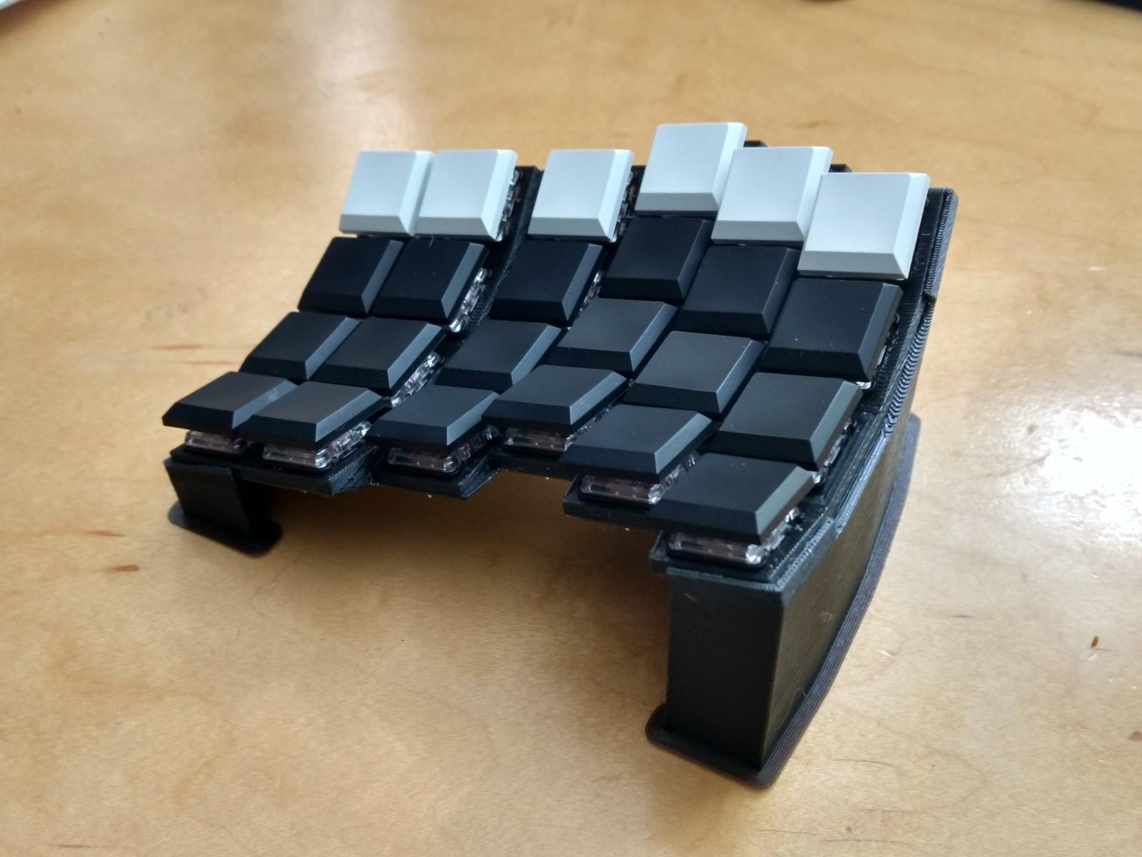Sherbet: эргономичная игровая клавиатура - 11