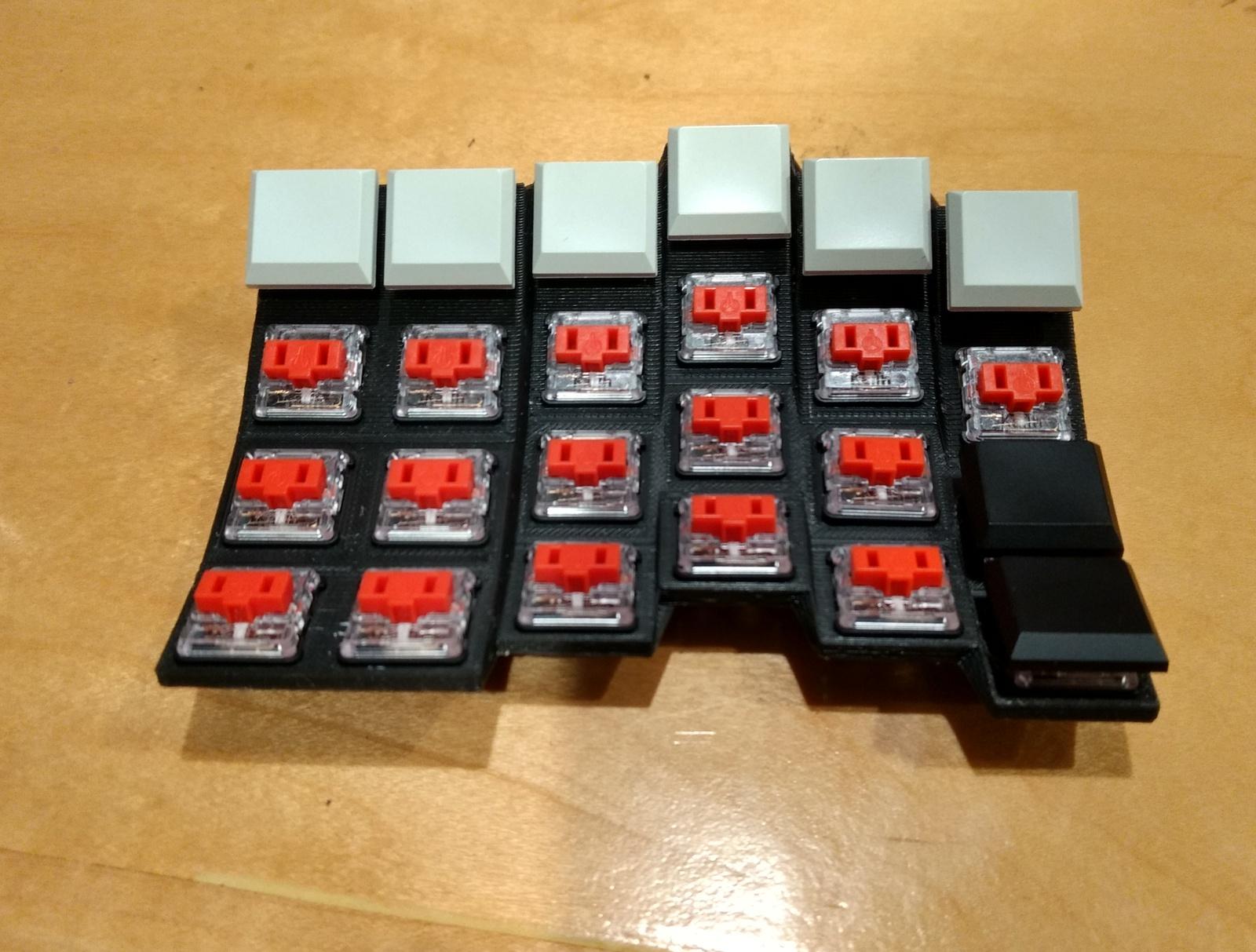 Sherbet: эргономичная игровая клавиатура - 9