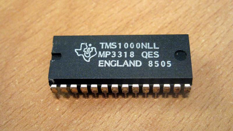 TMS1000: первый коммерчески доступный микроконтроллер - 1