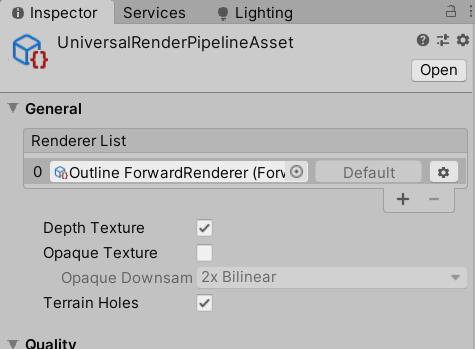 Создание Outline эффекта в Unity Universal Render Pipeline - 11