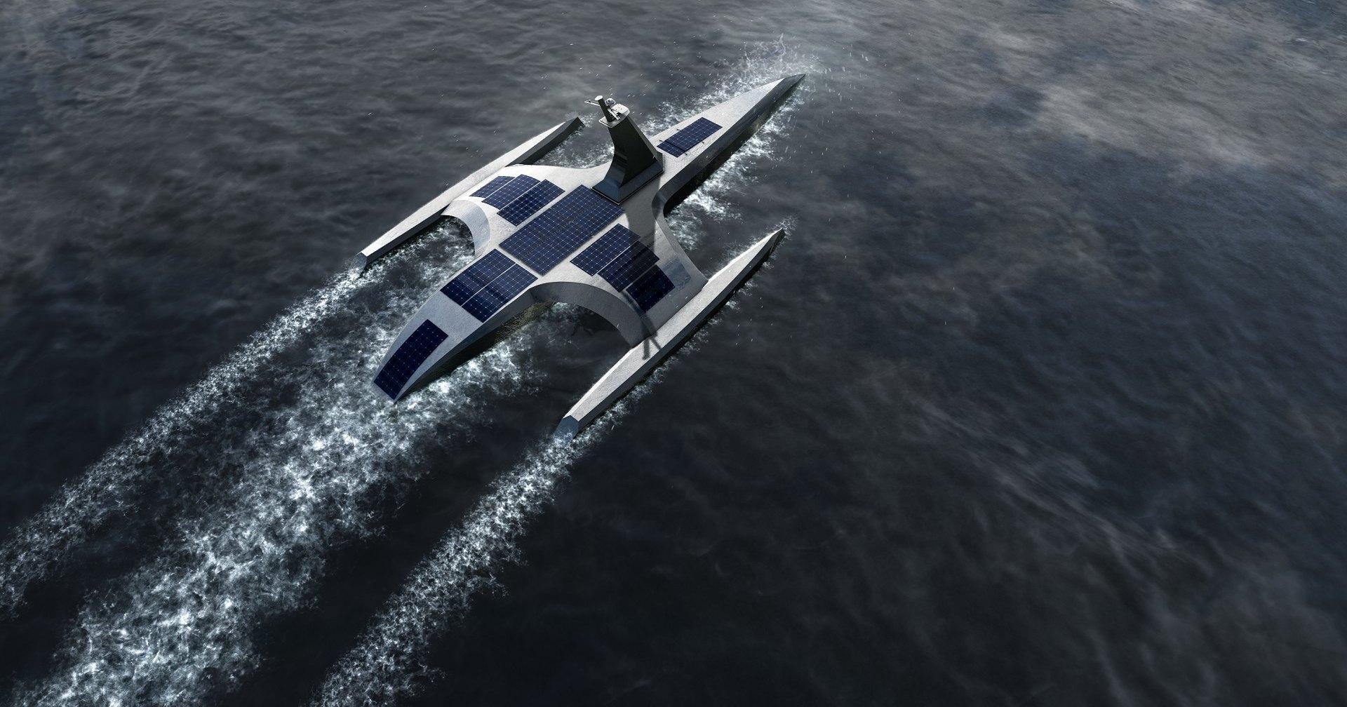 Беспилотное судно готовят к походу через Атлантику