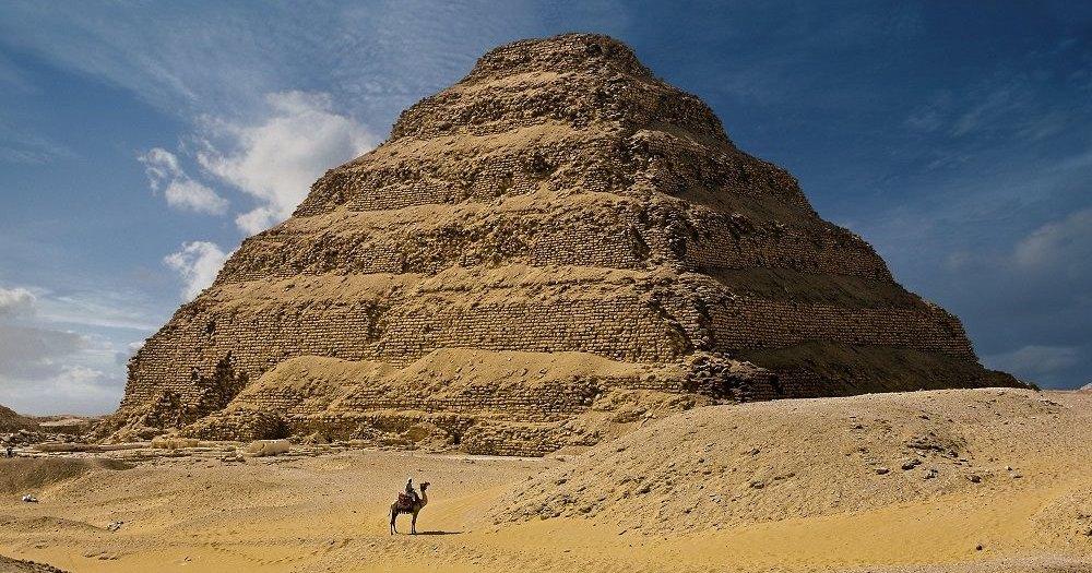 Пирамида Джосера после 14 лет реставрации