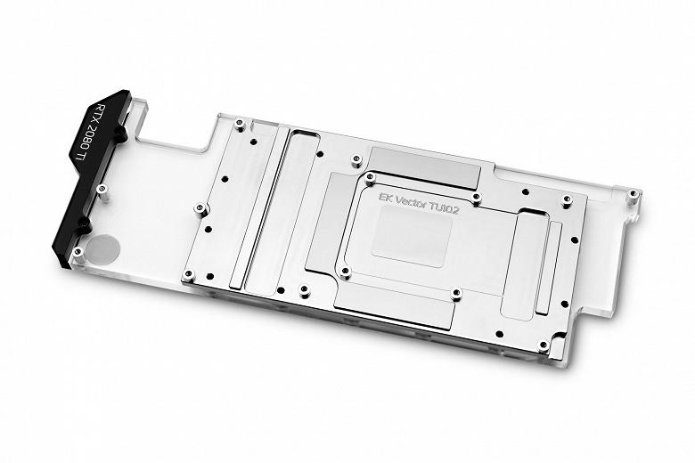 EK-Quantum Vector Direct RTX RE Ti D-RGB — самый узкий водоблок EK для видеокарт