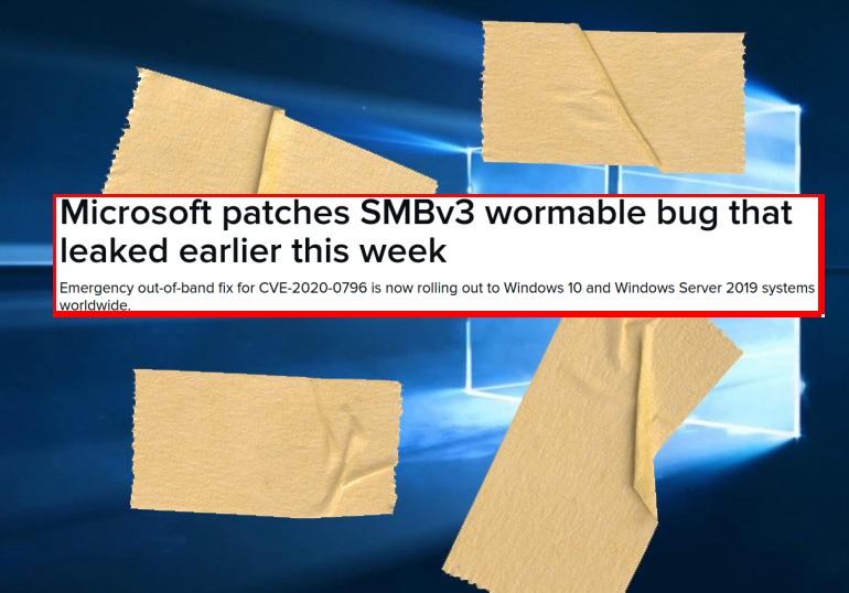Microsoft экстренно выпустила патч для недавно обнаруженной уязвимости в SMBv3 - 1