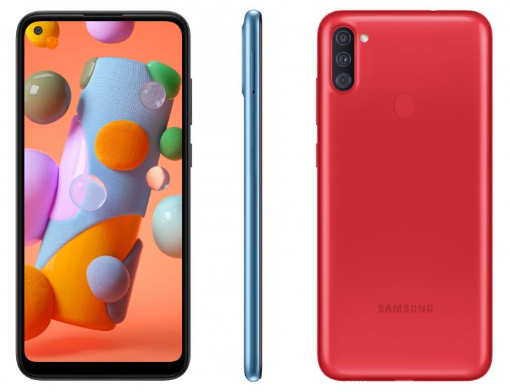 Samsung представила бюджетный Galaxy A11