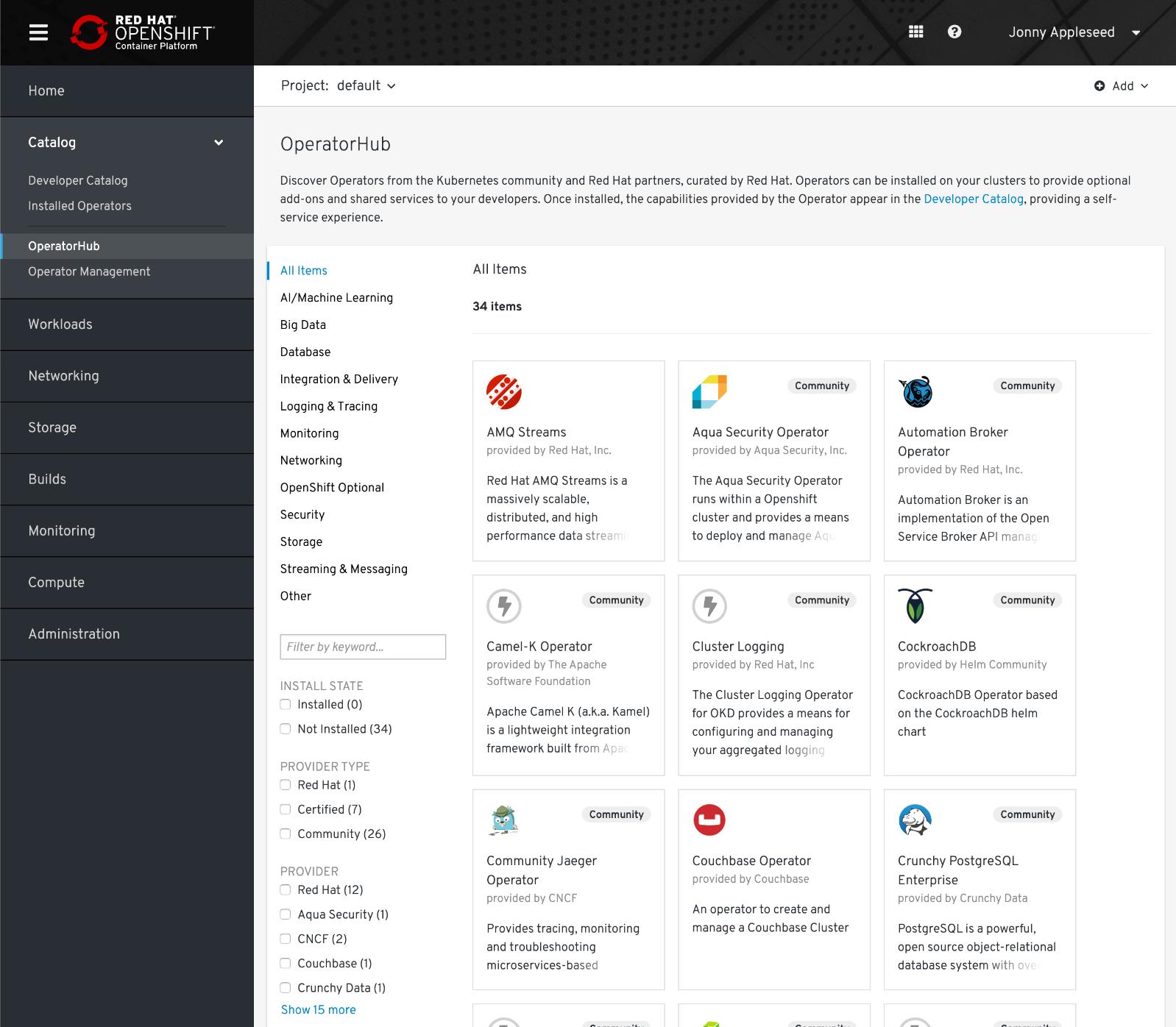 Что нового в Red Hat OpenShift 4.2 и 4.3? - 4