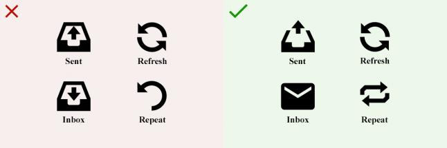Правила дизайна иконок, которые стоит запомнить - 2