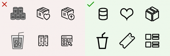 Правила дизайна иконок, которые стоит запомнить - 3