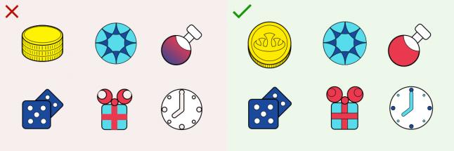 Правила дизайна иконок, которые стоит запомнить - 4