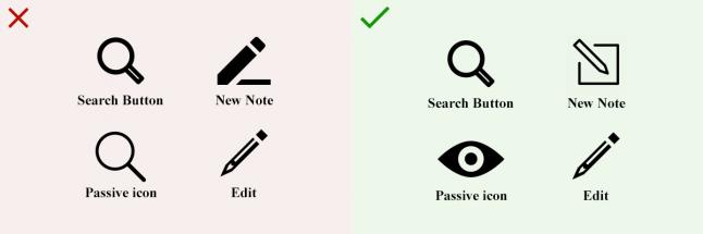 Правила дизайна иконок, которые стоит запомнить - 7