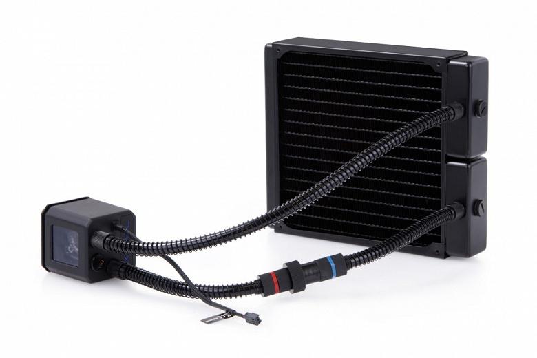 Система жидкостного охлаждения Alphacool Eisbaer 200 оснащена быстроразъемным соединением, упрощающим ее расширение