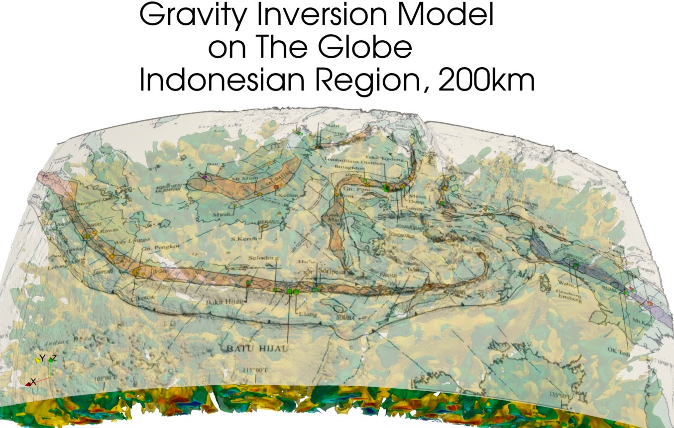 Gravity Inversion Model on The Globe.png