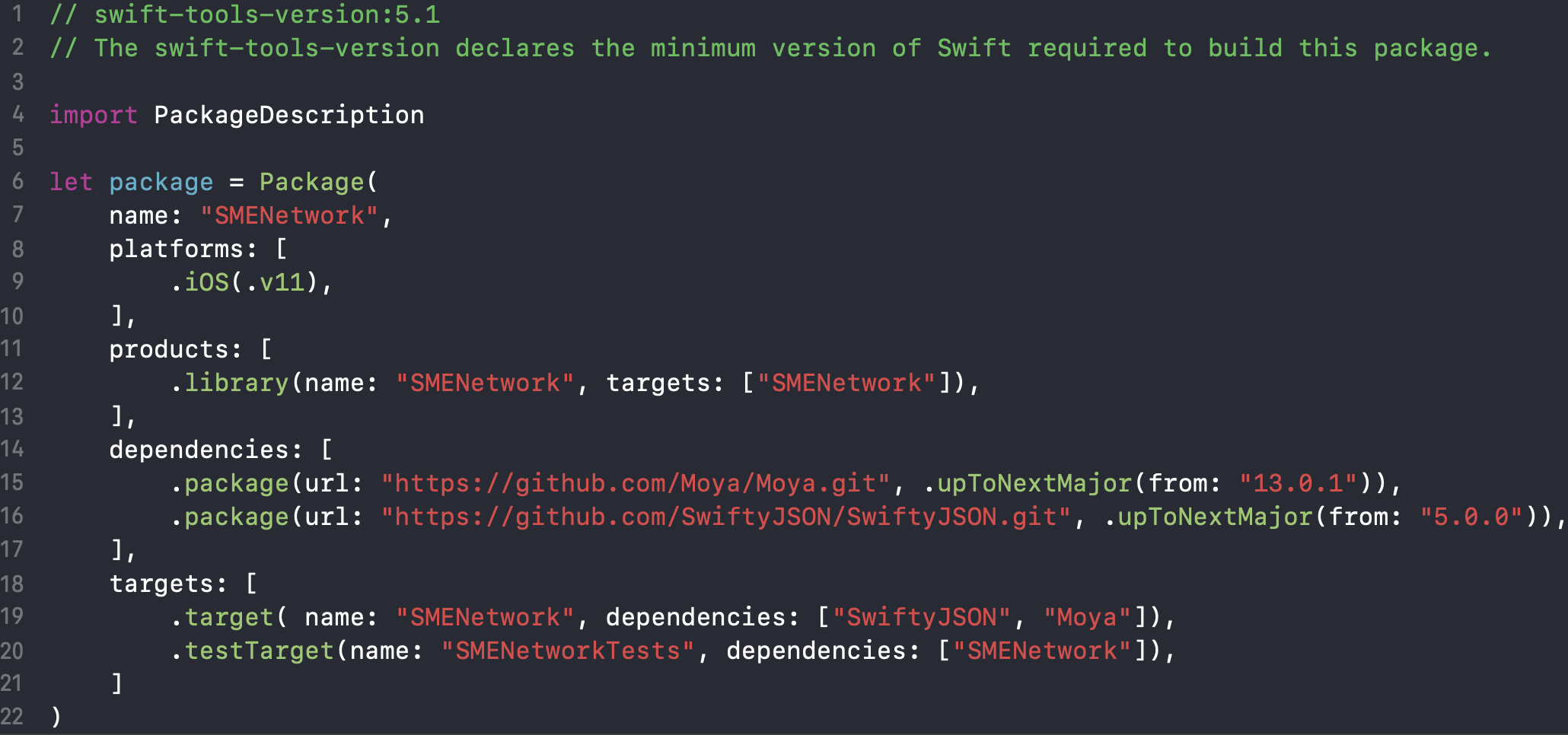 Переход c Cocoapods на Swift Package Manager - 3
