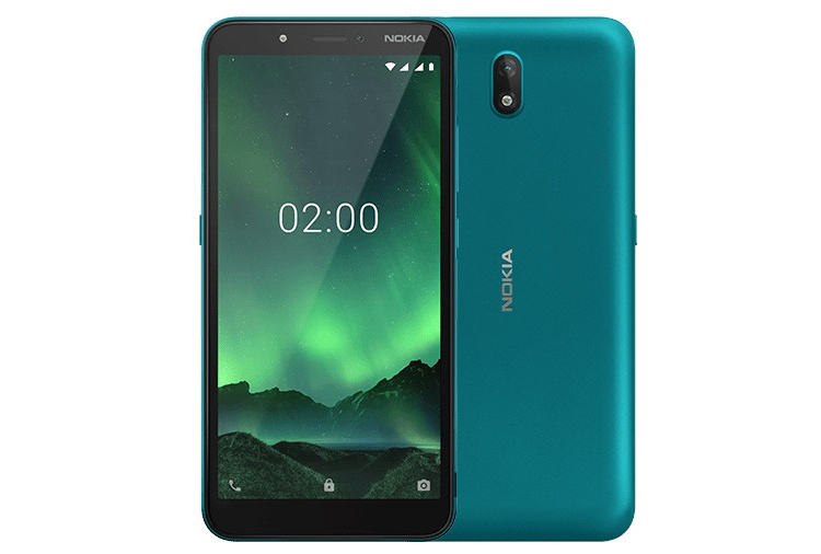 Nokia C2 Android Go Edition: смартфон с 5,7