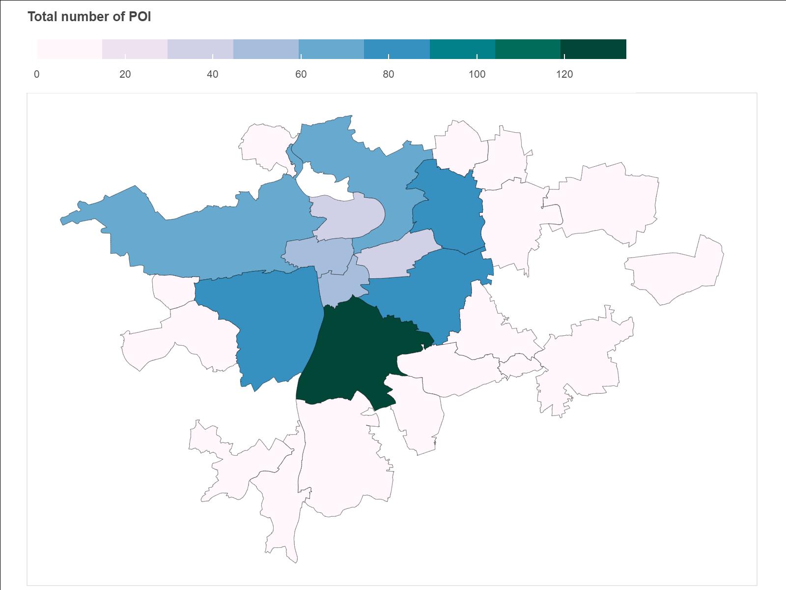 Город и данные: анализ пешеходной доступности объектов в Праге с помощью data science - 5