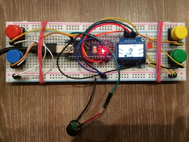 Игра «Ну, погоди!» на Arduino - 2