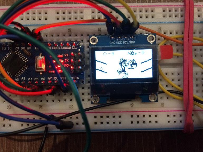 Игра «Ну, погоди!» на Arduino - 1