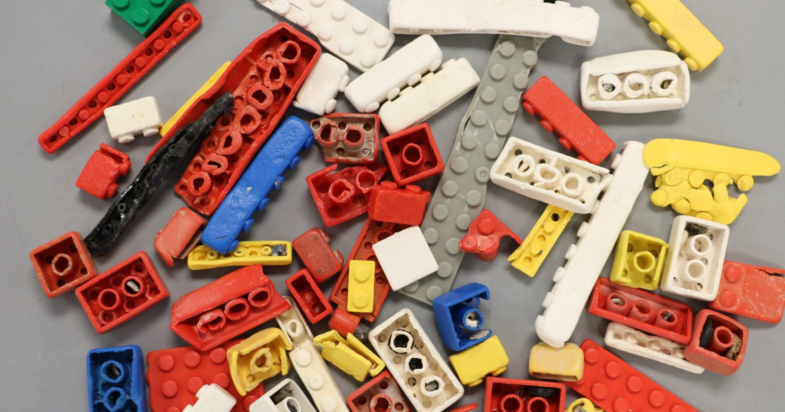 Кубики Lego способны прожить более 1000 лет в океане