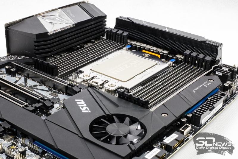 Новая статья: Такой разгон нам не нужен. Терзаем AMD Ryzen Threadripper 3970X и материнскую плату MSI Creator TRX40