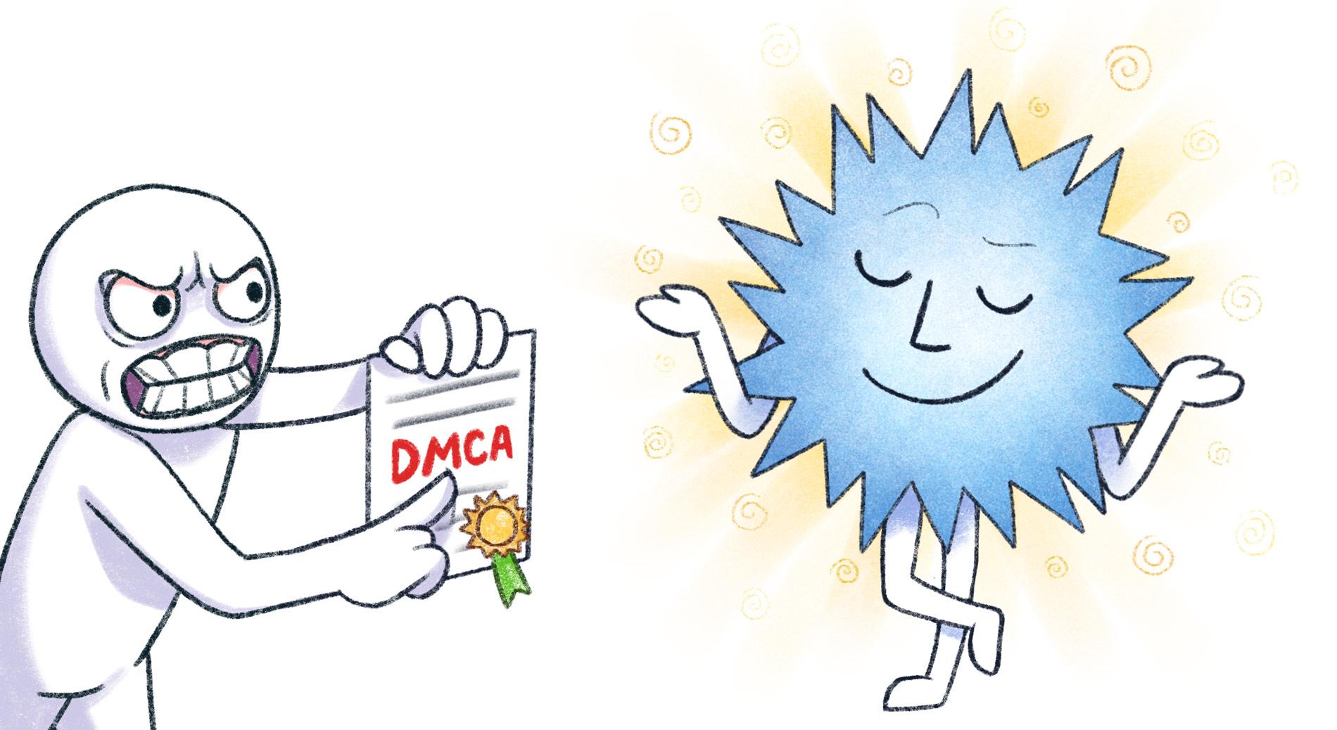 DMCA — соблюдать нельзя игнорировать - 1
