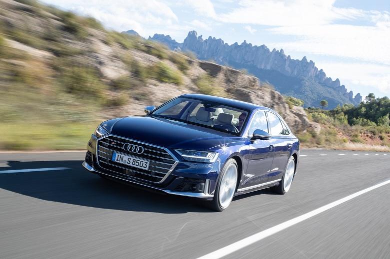 В России выходит спортивный седан Audi S8