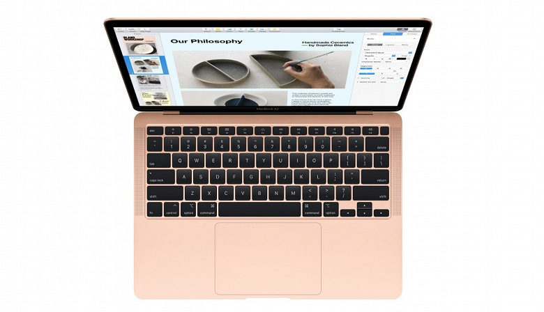 Apple представила новый MacBook Air: существенно дешевле, с нормальной клавиатурой и более ёмкими SSD