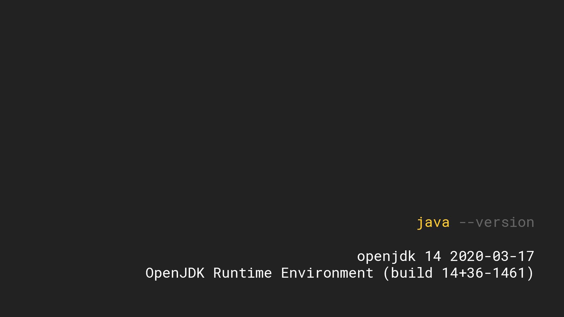 Java 14: Record, более лаконичный instanceof, упаковщик jpackage, switch-лямбды и текстовые блоки - 1