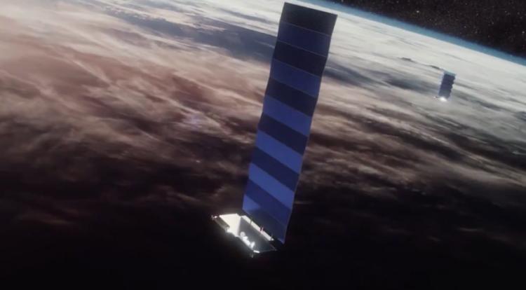 SpaceX произвела успешный запуск 60 микроспутников Starlink