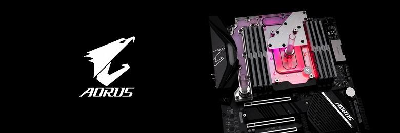 Моноблок EK-Quantum Momentum TRX40 Aorus Master D-RGB оценен в 200 евро