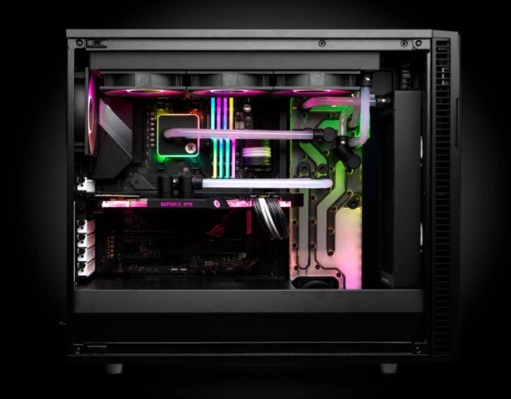 EK-Quantum Reflection Fractal ATX D5 PWM D-RGB — агрегат СЖО, созданный специально для систем в корпусах Fractal Design