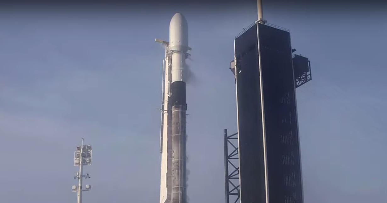 SpaceX успешно запустила новую партию спутников Starlink