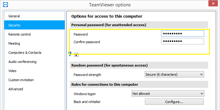 Как TeamViewer хранит пароли - 1
