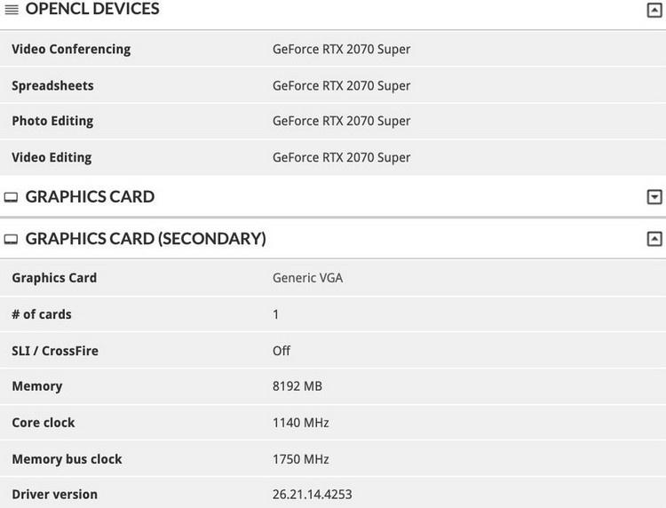 Первые тесты мобильной GeForce RTX 2070 Super: на уровне GeForce RTX 2080 Max-Q