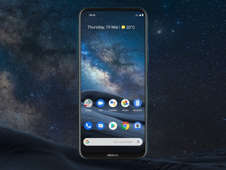 Представлен флагман-полукровка Nokia 8.3 5G