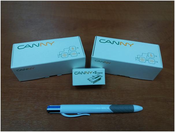 Управление шаговым двигателем через контроллер Canny - 1