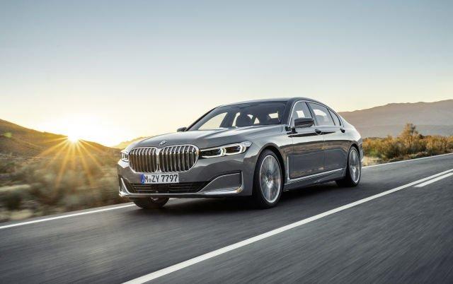 В следующую линейку BMW 7 войдет электромобиль