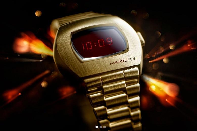 50-летие первых цифровых наручных часов отмечено выпуском обновленной версии