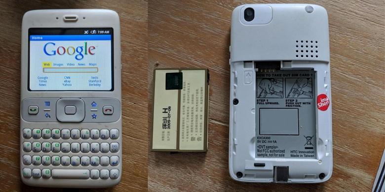 Первые в истории Android-смартфоны продали на eBay по 195 долларов за штуку