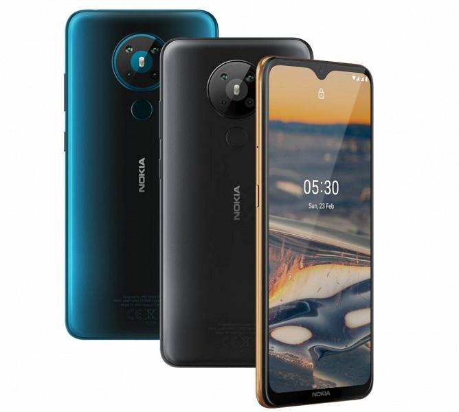 Представлены антикризисные смартфоны Nokia 5.3 и Nokia 1.3